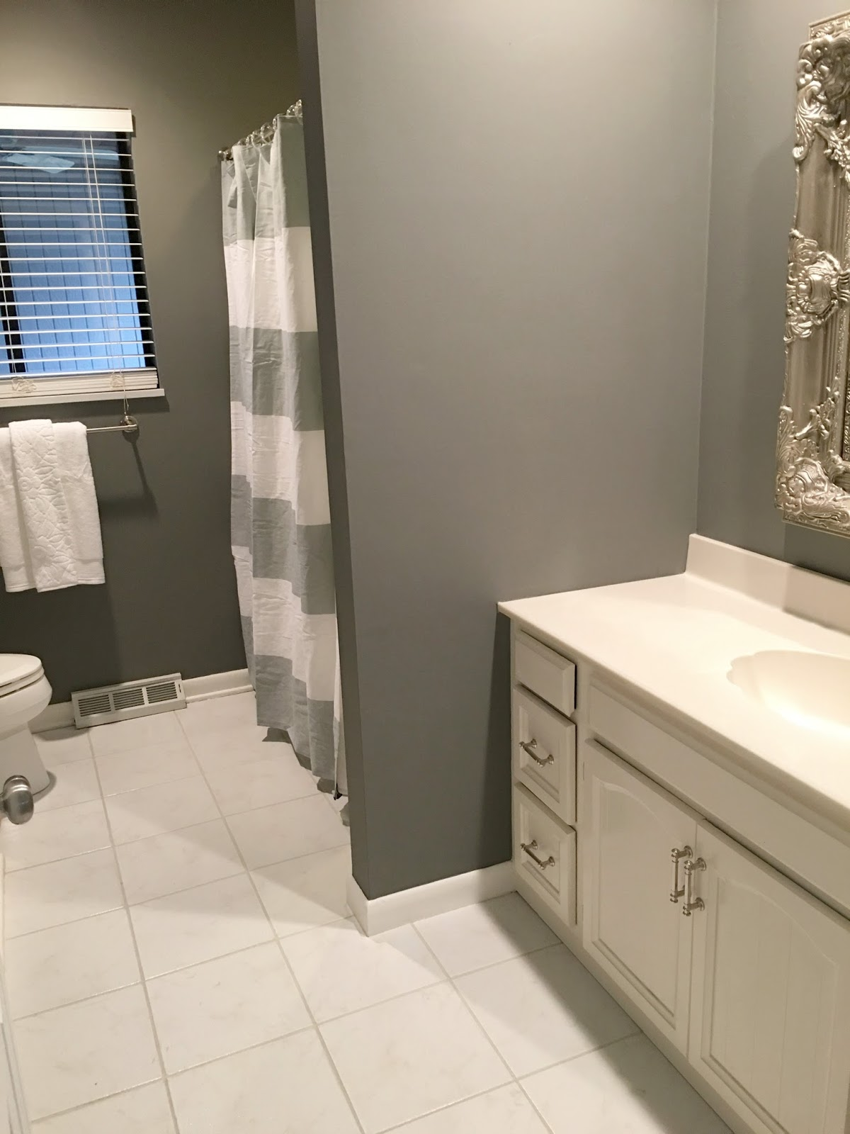 Nice DIY Bathroom Remodel on a Budget