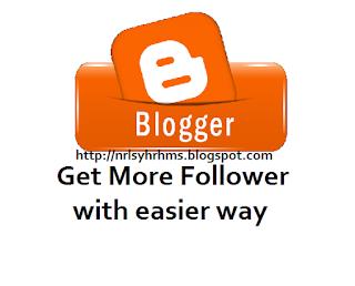 cara tingkatkan follower blog