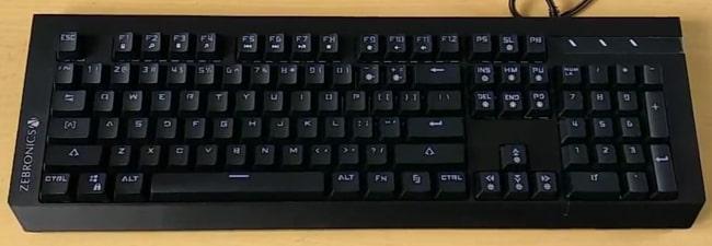 Zebronics Max Plus Mechanical Keyboard in ₹2998 in India.