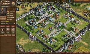 Empire Rising free strategy PC MMO game