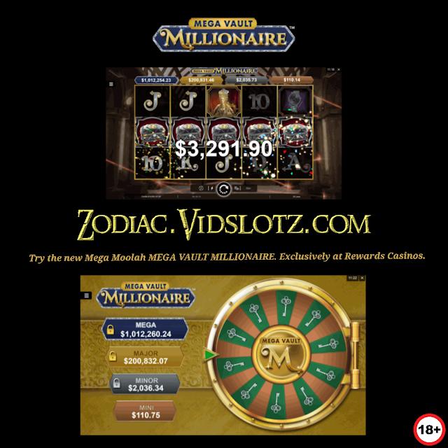Mega Vault Millionaire Mega Moolah Exclusive