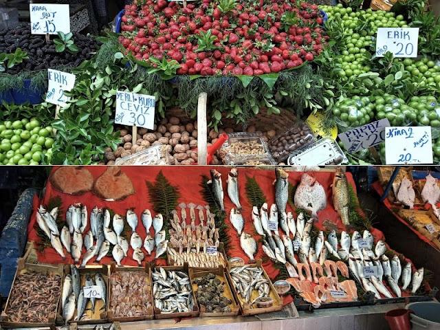 colorato mercato di Beşiktaş
