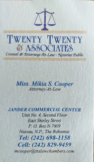 Lawyer Mikia Cooper
