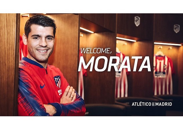 Chelsea record signing Alvaro Morata seals 18-month loan deal to Atletico Madrid after struggling to prove his worth