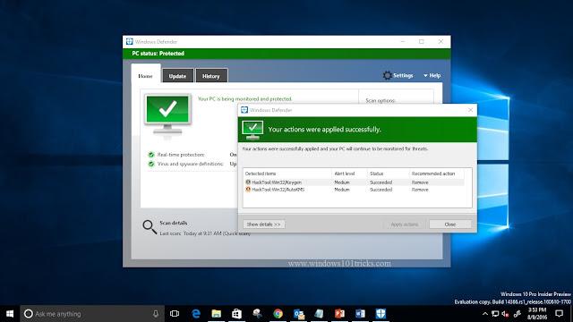 An improved Windows Defender