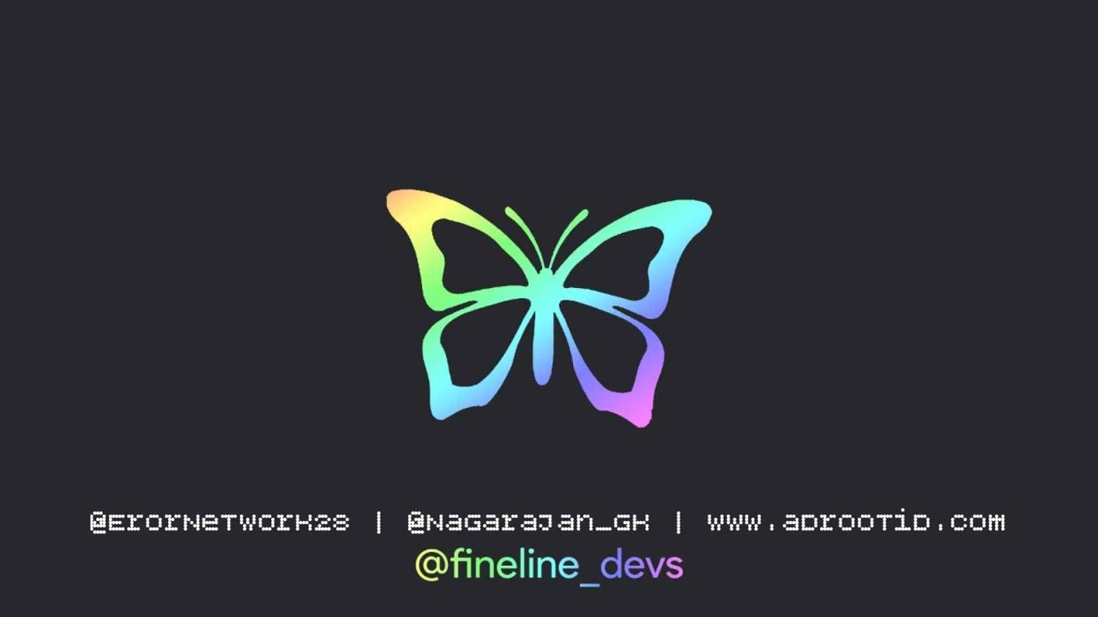 Kernel butterfly