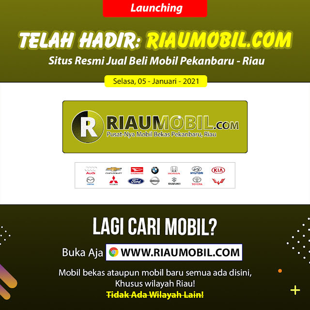 Gambar - Launching RIAUMOBIL.COM