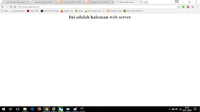 Lihat halaman web di browser