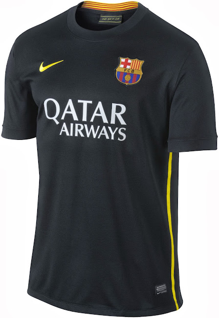 new style 60ca1 0d85e Nike FC Barcelona 13-14 Third Kit Released - Footy Headlines