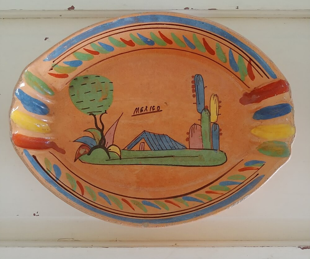 Mexican redware pottery