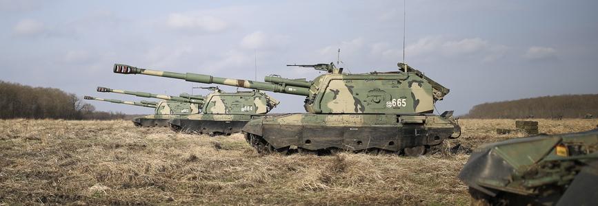 Армія РФ отримала партію модернізованих САУ 2С19М2 Мста-С