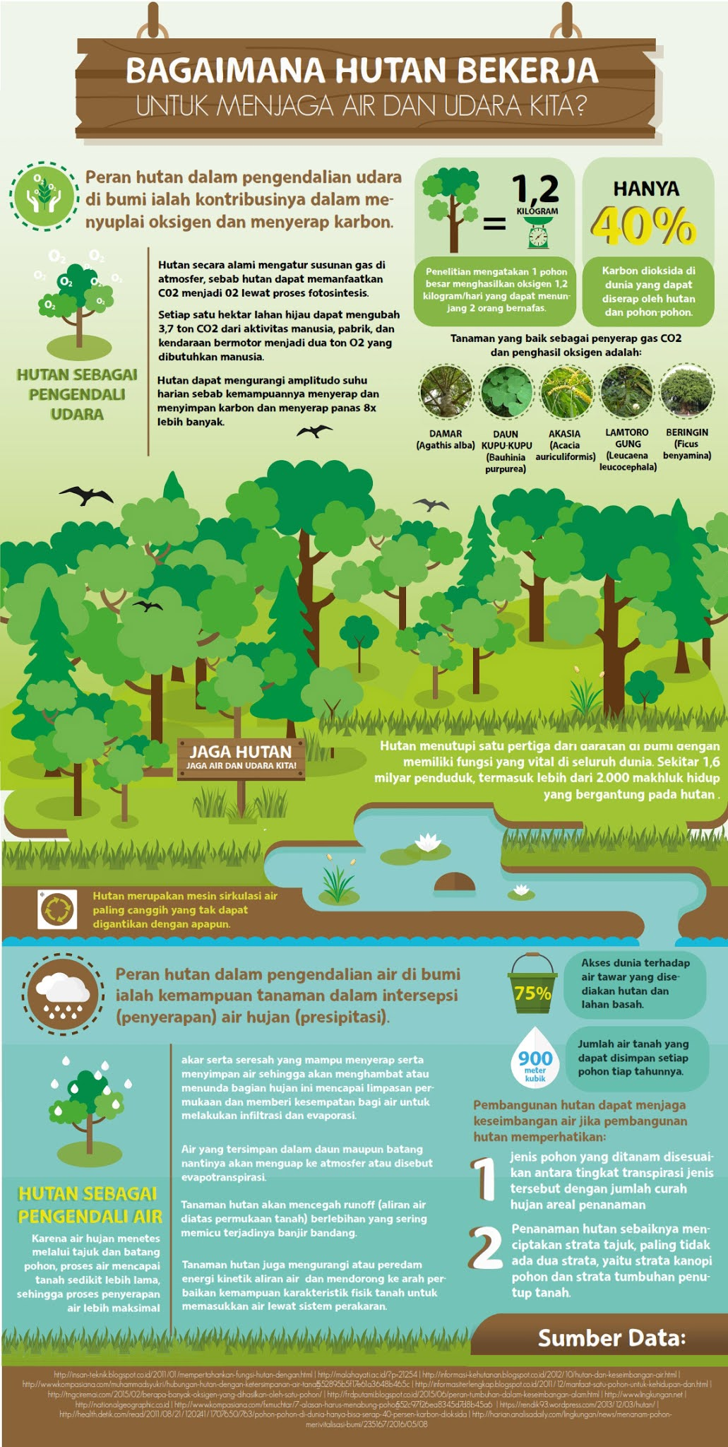 Infografis Hutan