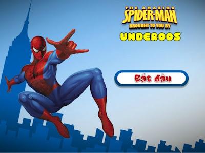 Chơi game siêu nhân người nhện hay nhất
