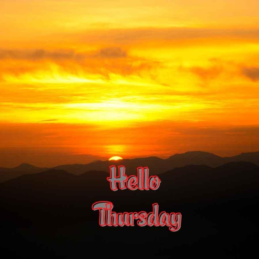thursday god good morning images
