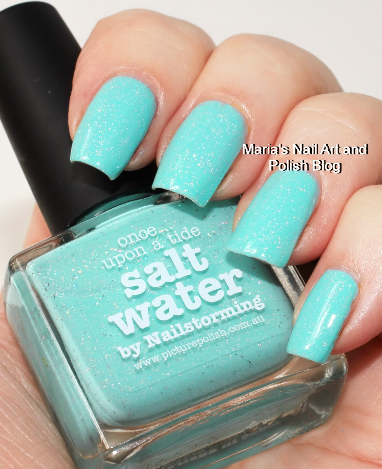 Marias Nail Art And Polish Blog Picture Polish Salt Water Swatches