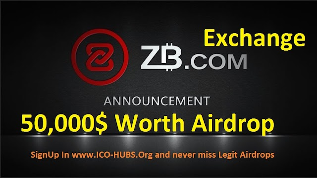 ZB Exchange Airdrop Limited Tme