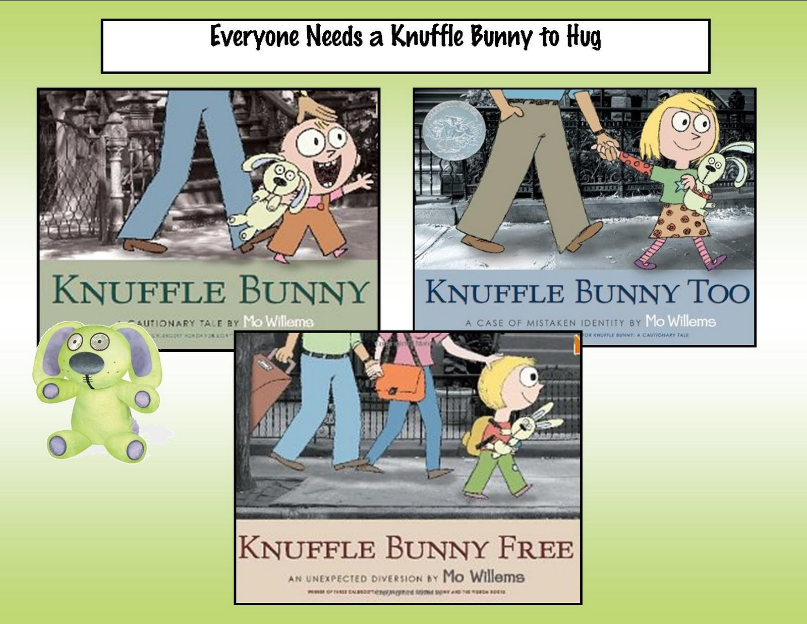 Kindergarten Crayons Is There A Knuffle Bunny In Your Life