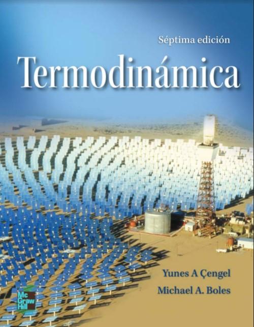 Termodinámica  7 Edición Yunes Cengel, Michael  en pdf