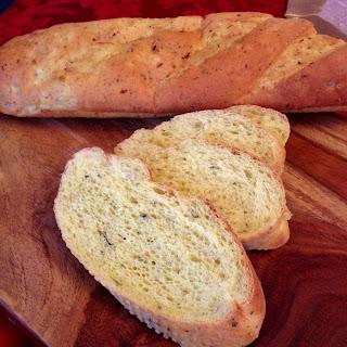 Bread, enriched bread, fresh herbs