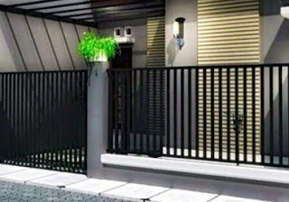 pada kesempatan kali ini aku akan membahas perihal Desain atau Model Pagar Rumah Yang Mi Desain Pagar Rumah Minimalis