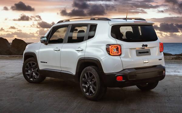 Jeep Renegade 2022 - traseira