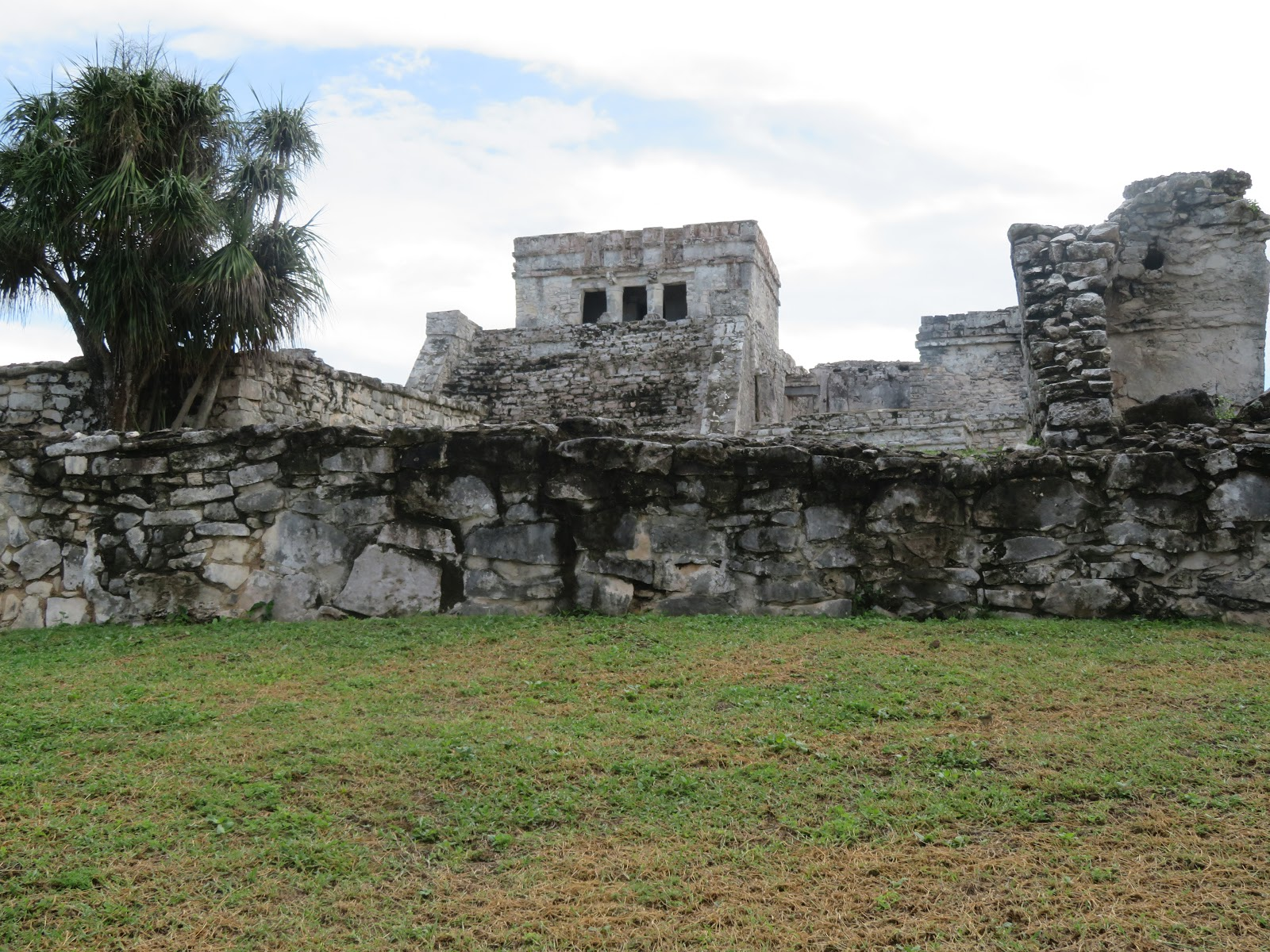 Foto de las ruinas de Tulum el Castillo