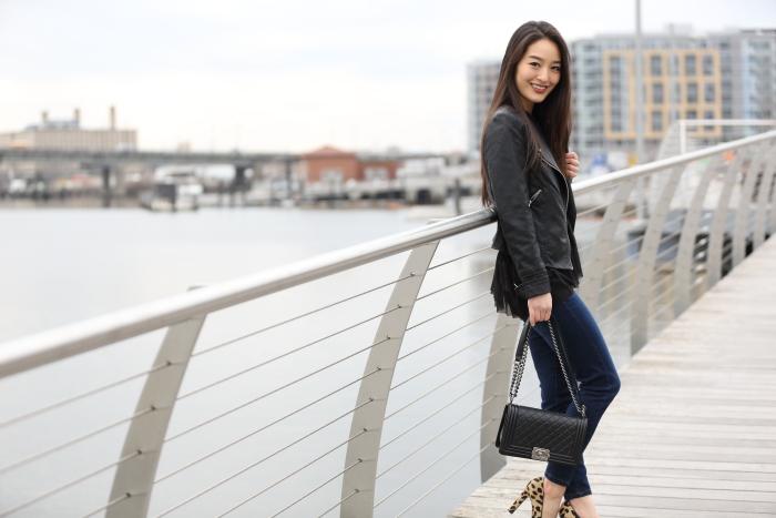 korean blogger wears mesh