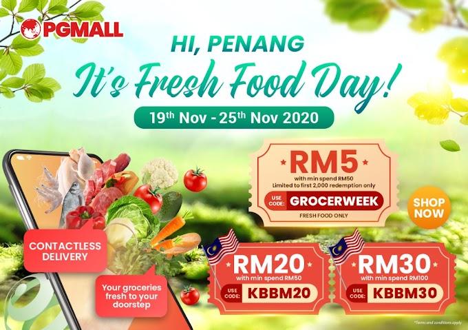 Syoknya PG Mall Kempen Beli Barangan Malaysia