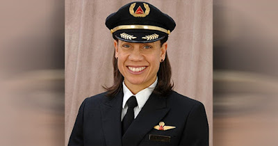 Stephanie Johnson, first Black female pilot captain