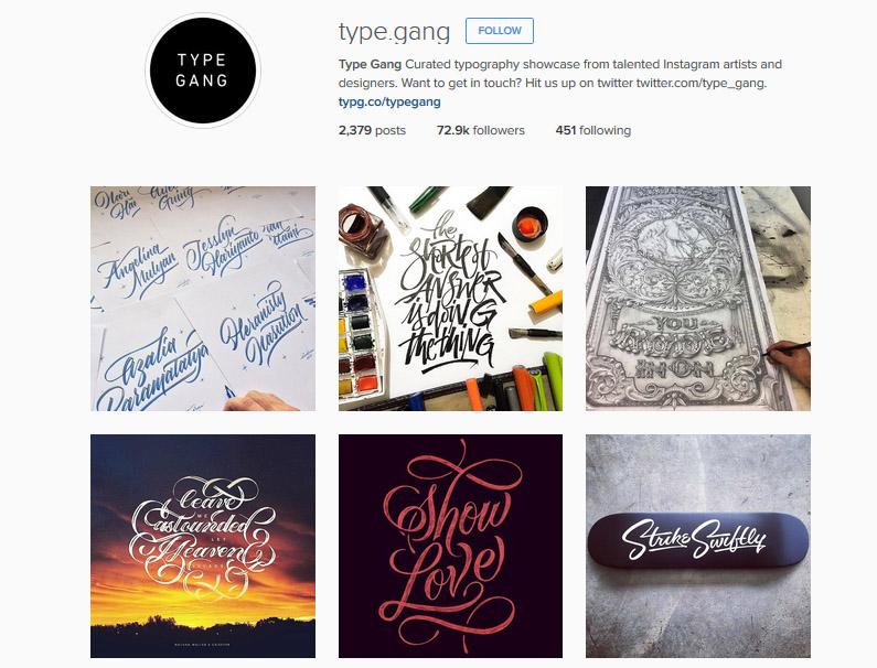 referensi inspirasi akun instagram desain grafis desainer logo branding iklan tipografi gambar foto ilustrasi graphic designer keren bagus kreatif terbaru update