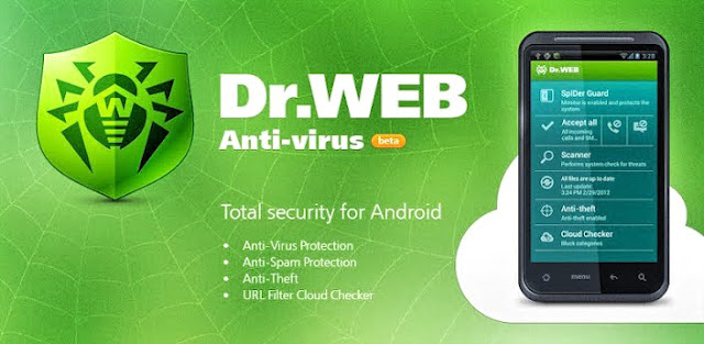 Dr.Web Security Space Life is an ultimate solution for your Android device to protect it from viruses, malware, spam as well as this amazing app helps you get your phone back when it's lost or stolen.