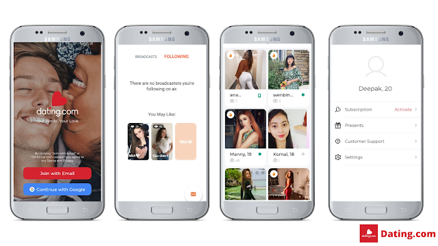 Dating.com best dating apps for Android - you must know!!!