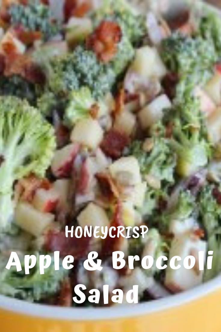 #Honeycrisp #Apple #Broccoli #Salad #healthyrecipes #vegan #breakfast
