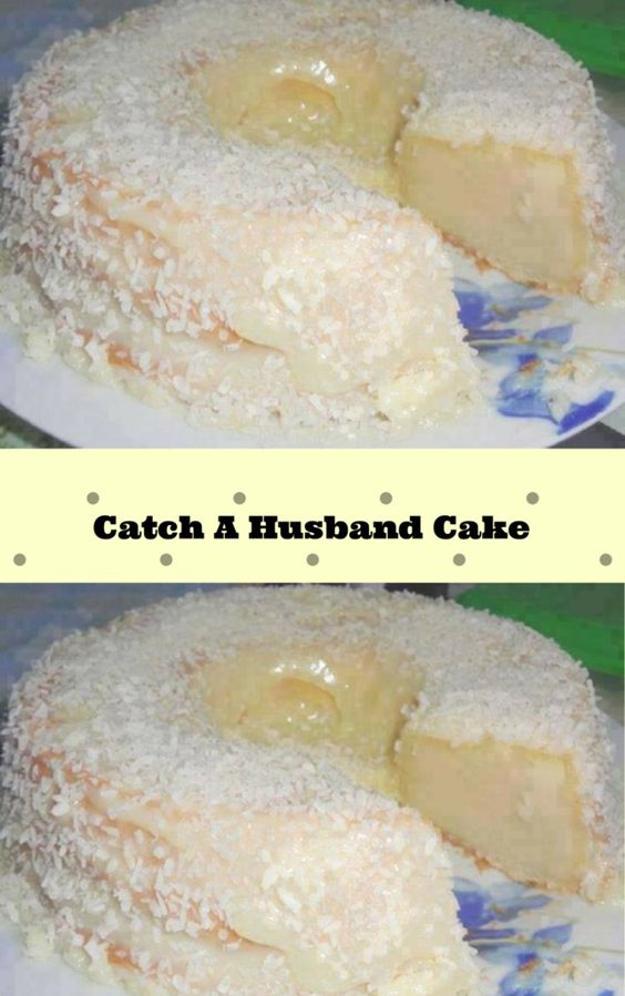 Catch A Husband Cake