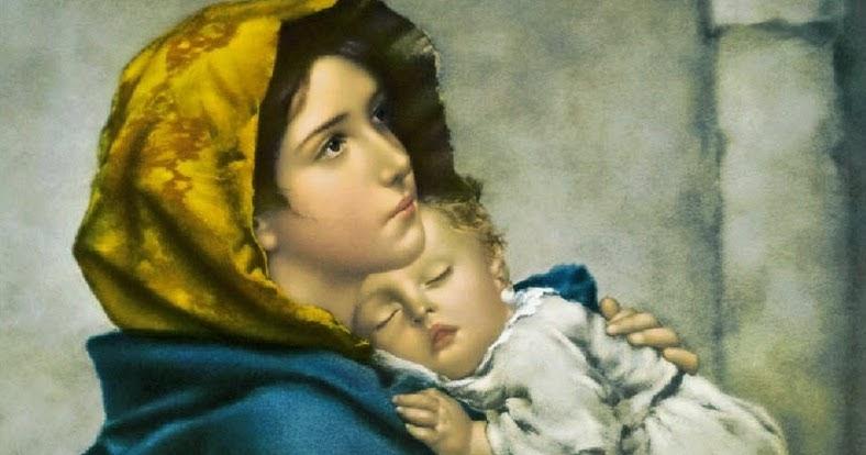 Professione Donna Schema Per Il Punto Croce Madonna Con