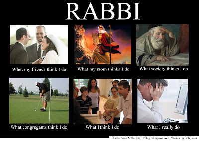 What I Really Do Meme - Rabbi