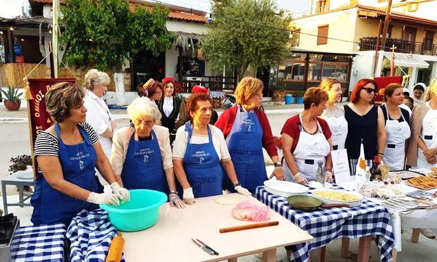 Ο Σύλλογος Γυναικών Υπαίθρου Λάρνακας συμμετείχε στο «Kouzina 2019»