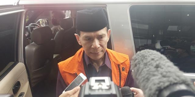 Ditahan KPK, Eks Anggota BPK Rizal Djalil: Saya Dikhianati Dan Ditikam Dari Belakang