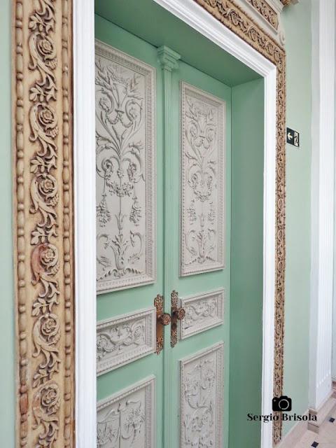 Palacete Violeta (detalhes das portas)