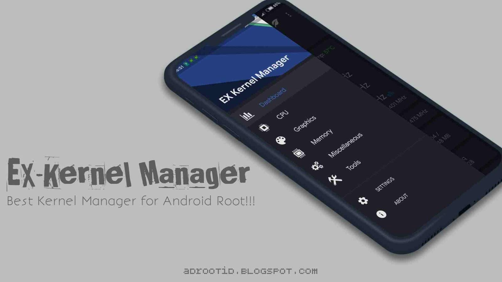Aplikasi EX Kernel Manager Pro