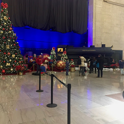 Polar Express at Union Station, Chicago