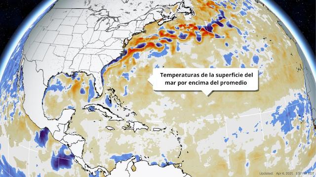 Temporada ciclónica 2021 superior al promedio: 17 tormentas con nombre, 8 huracanes y 4 huracanes importantes.