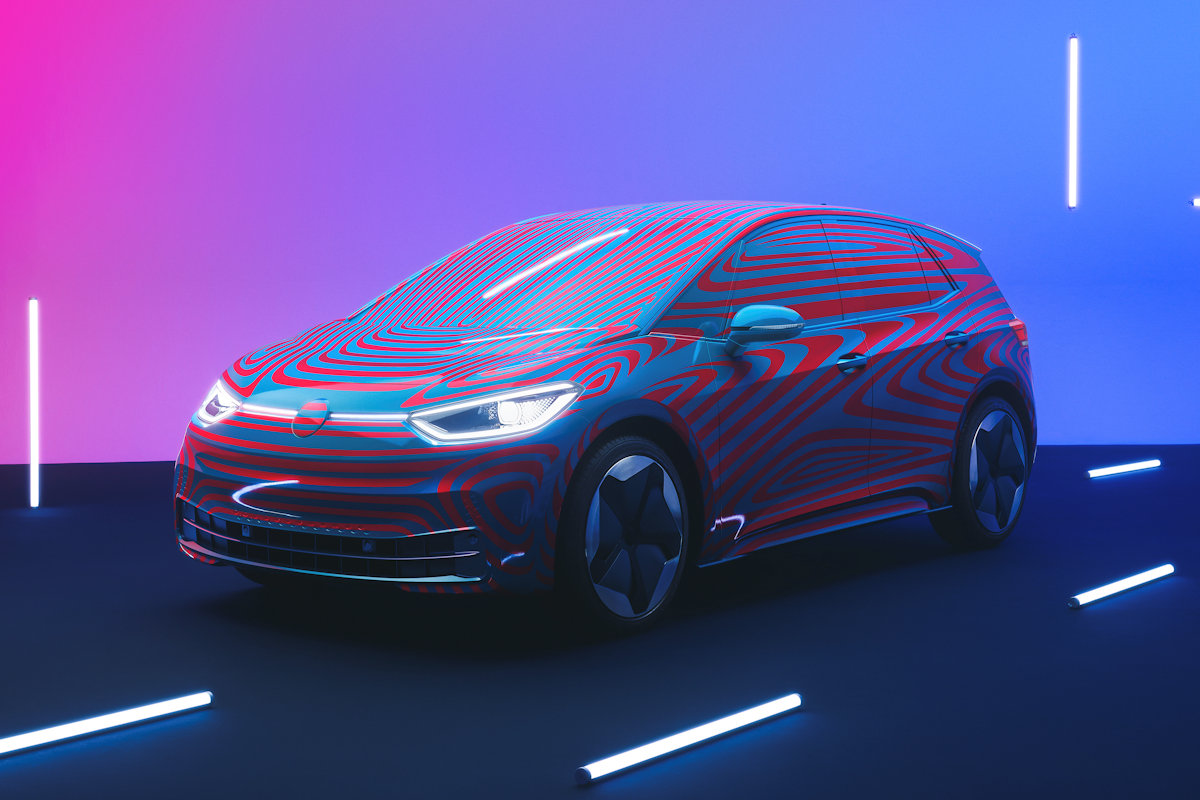 Volkswagen Teases First All-Electric Vehicle: The ID.3
