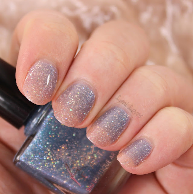 Femme Fatale Cosmetics Crepuscular Awakening Nail Polish Swatches & Review