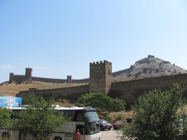 Генуэзская крепость. Судак. Крым
