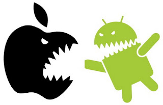 Apple Quarreling With Android