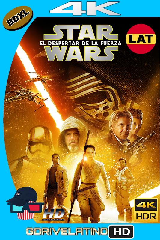 Star Wars : El Despertar de la Fuerza (2015) BDXL 4K UHD HDR Latino-Ingles ISO