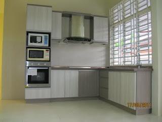 Kabinet Dapur Modern Simple