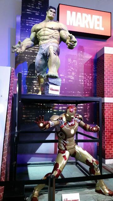 Expo Disney Brasil 2015 - Hulk e Homem de Ferro