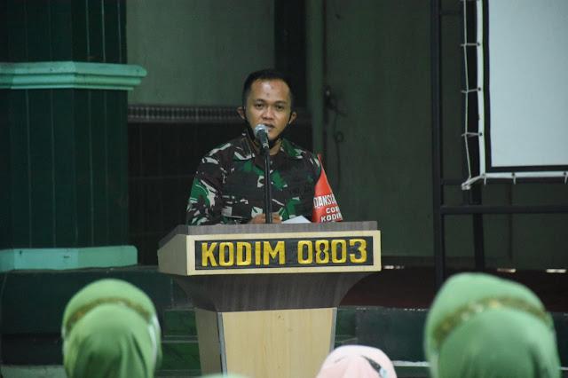 Kodim 0803/Madiun Adakan Sosialisasi KB Pria bagi Prajuritnya
